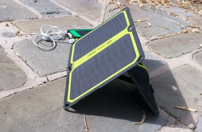 Solar-Powered Charging for Smartphones