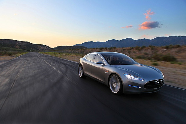 The Tesla Model S in action. Some rights reserved by Al Abut via Flickr.