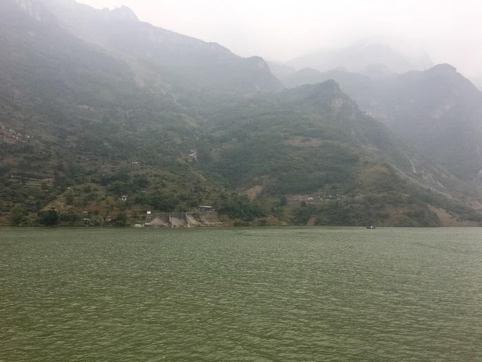 The Yangtze near Three Gorges