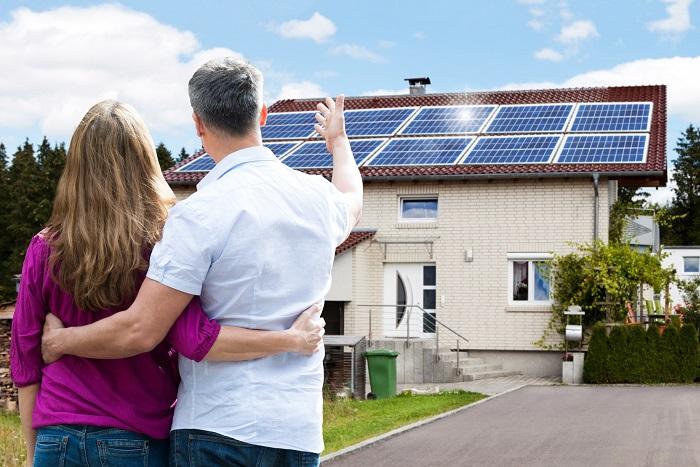 saving money solar panel