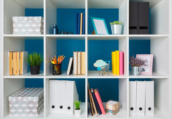 Invest in organizational storage for your workspace