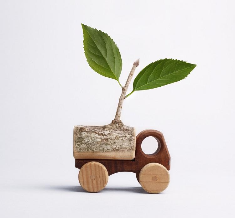 Eco Friendly Transportation Concept